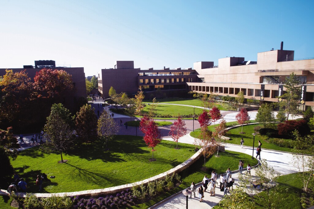 Rochester Institute of Technology RIT 校園景色