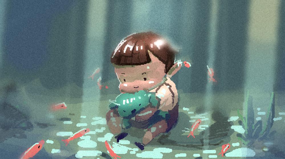 《旅人奇遇》最初的設定,是以小男孩為主角