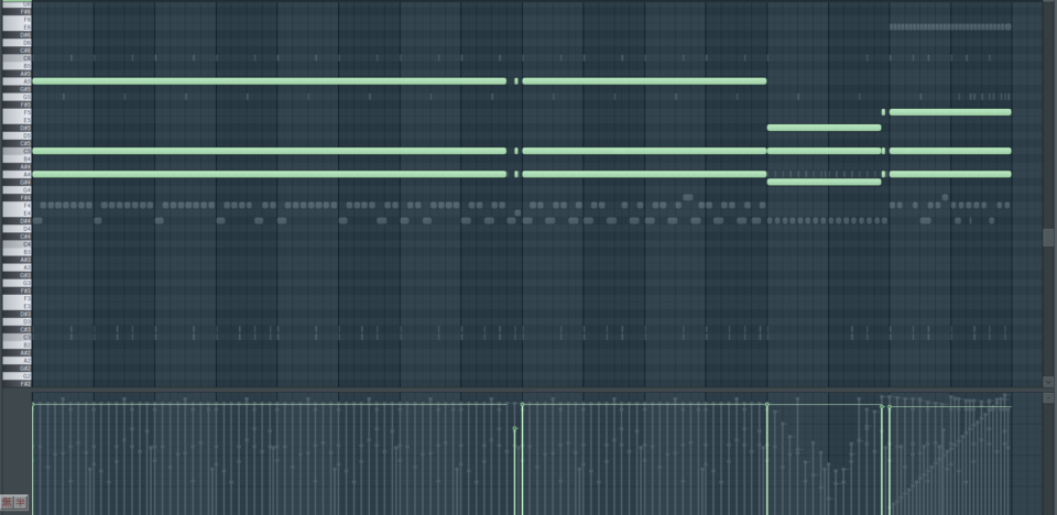 《續伏特》音樂設計 MIDI 演示