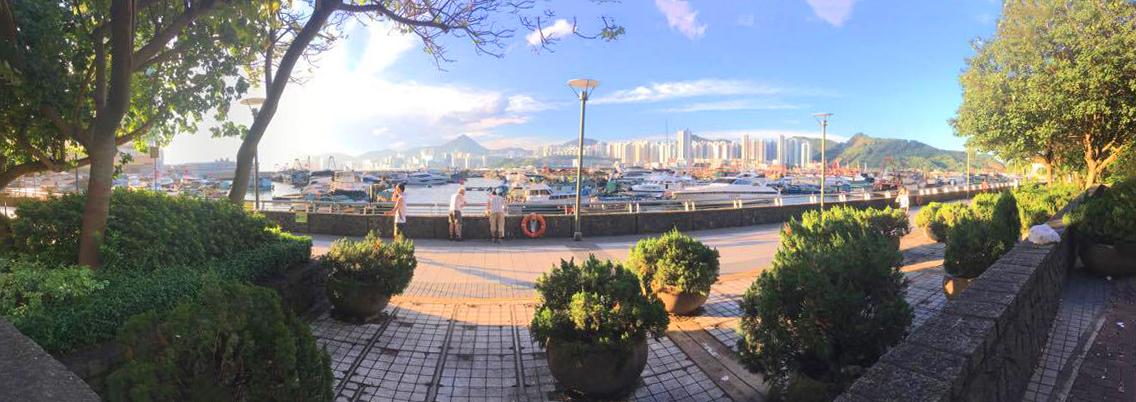 Weiting 拜訪香港時拍攝的景色照片